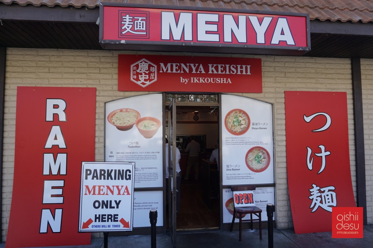 Menya Keishi (New Restaurant)